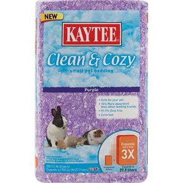 Kaytee Purple Clean & Cozy Bedding 500 cu in