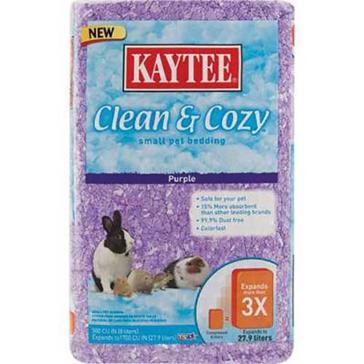 Kaytee Purple Clean & Cozy Bedding 500 cu in
