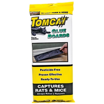 Tomcat 2 Pack Valu-Pack Rat Glue Boards 32423
