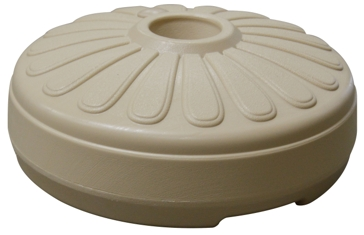 Gracious Living A-1 Umbrella Base Sandstone