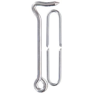 Hillman Zinc-Plated Heavy Gate Hook w/Staple
