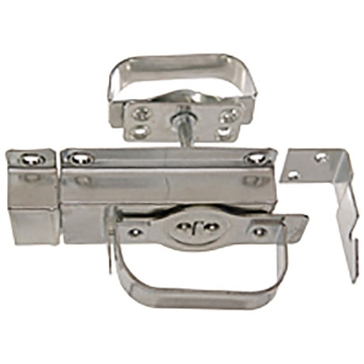 Hillman Zinc Plated Swinging Door Latches