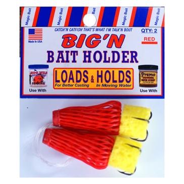 Magic Bait Big'n Red Bait Holder 2PK