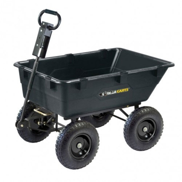 Gorilla Carts Heavy Duty Garden Dump Cart