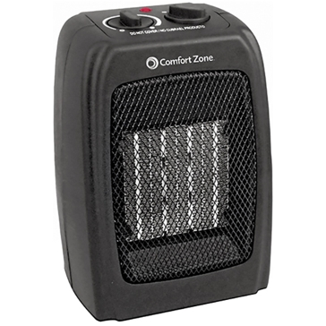 Comfort Zone Ceramic Heater & Fan