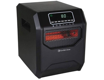 Comfort Zone Infrared 1500W Heater- CZ2018