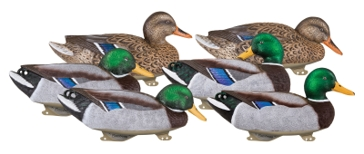 Flambeau Gunning Series Mallard 6 Pack Decoys