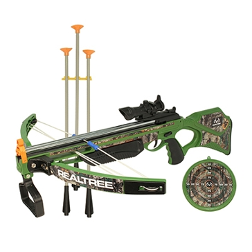 NKOK Inc. Realtree 26″L Compound Crossbow Set toy