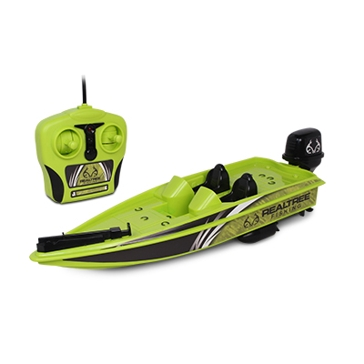 NKOK Inc. FULL FUNCTION R/C BASS BOAT (GREEN)