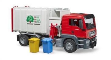 Bruder Toys MAN TGA Side Load Garbage Truck