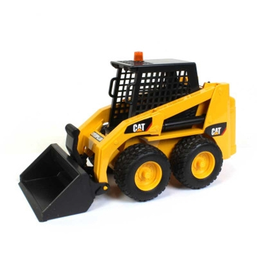 Bruder CAT Skid Steer Loader 1:16 Scale Construction Toy 2482