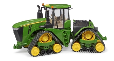 Bruder John Deere 9620RX Tractor with Track Belts 1:16 Scale Farm Toy 9817