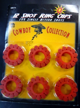 Parris Mfg. 914 Ring Cap 12 Shot Ring Caps 144 total