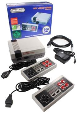 Cool Baby Retro HD Mini TV Nintendo Console Video Game w/ 600 Games