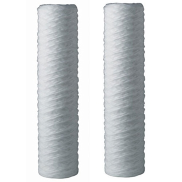 OMNIFilter Whole House Durable String-Wound Filter Cartridges - 2 Pack