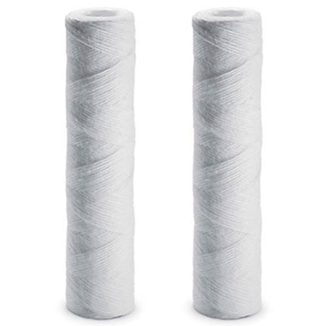 OMNIFilter Whole House String Wound Filter Cartridges - 2 Pack