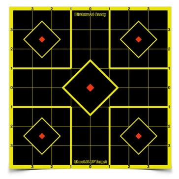 Birchwood Casey Shoot-N-C Sight-In Target 8x8in 34105