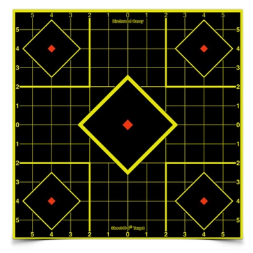 "Birchwood Casey Shoot-N-C Sight-In Target 12""X12"" 34205"
