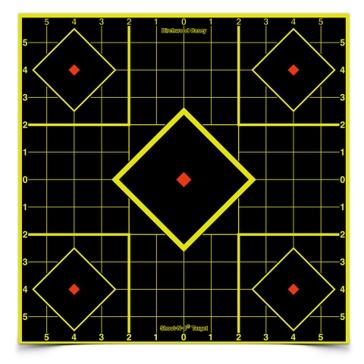 "Birchwood Casey Shoot-N-C Sight-In Target 12""X12"" 34205"