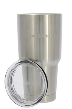 Meadowcraft Stainless Steel 30oz Tumbler