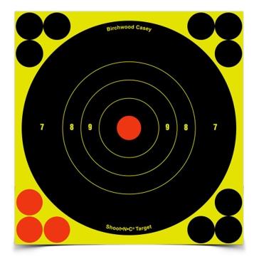Birchwood Casey Shoot-N-C 6in Bullseye Target 34512