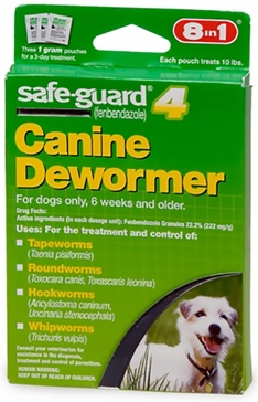 Safeguard 1gm Canine Dewormer 3-Pack 14656565