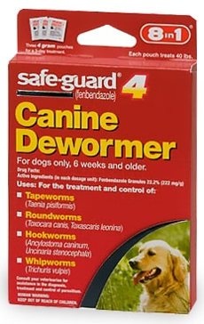 Safeguard 4gm Canine Dewormer 3-Pack 19595959