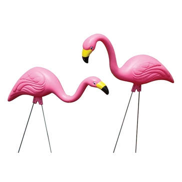 Bloem Pink Flamingo Pair Yard Ornament 2pk