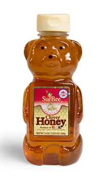 Sue Bee Honey, 12oz Bear