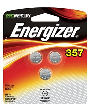 Energizer 357 Batteries 3PK