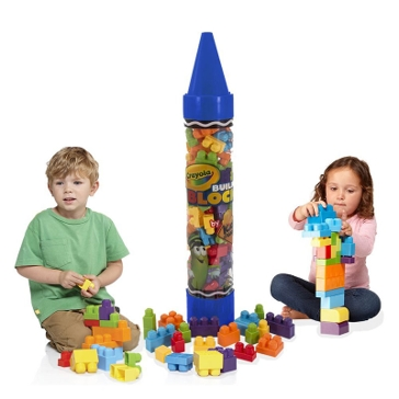 "Crayola 36"" Giant Crayon w/ Building Blocks 99080 Asst."