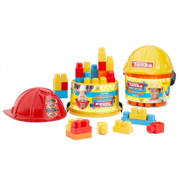 Tonka 25 Piece Hard Hat Buckets