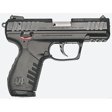 "Ruger SR22 .22LR 3.5"" Rimfire Handgun"