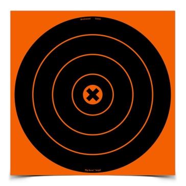 Birchwood Casey Big Burst 12in Bullseye Target 36123