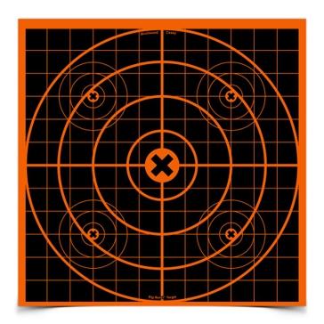 Birchwood Casey Big Burst 12in Sight-In Target 36213