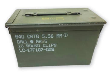 Ammo Can Man 50 cal. Ammo Can