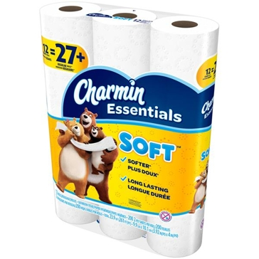 Charmin Essentials 12 Giant Rolls - Soft