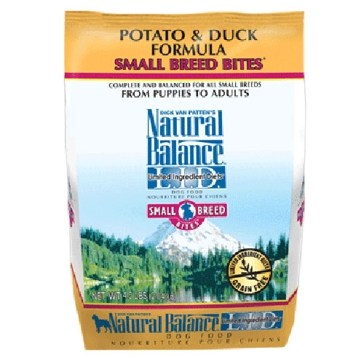 Natural Balance Limited Ingredient Diets Potato & Duck Small Breed Bite Formula Dry Dog Food 4.5lb