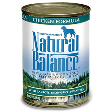 Natural Balance Ultra Premium Chicken Formula Wet Dog Food 13oz