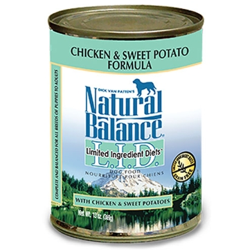 Natural Balance Limited Ingredient Diets Chicken & Sweet Potato Formula Wet Dog Food 13oz