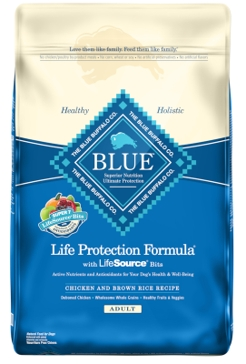 Blue Buffalo Life Protection Chicken & Brown Rice Adult Dry Dog Food 15lb