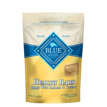 BLUE Health Bars Baked with Banana and Yogurt  Natural Biscuits for Dogs 16oz