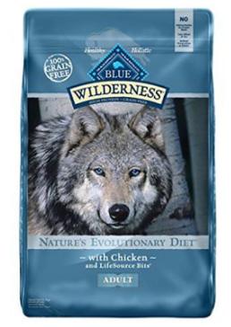 Blue Buffalo Wilderness Chicken Adult Dry Dog Food, 11 lbs