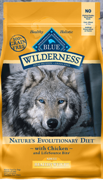 Blue Buffalo Wilderness Chicken Adult Dry Dog Food, 24 lbs