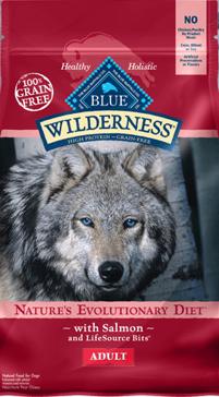 Blue Buffalo Wilderness Salmon Adult Dry Dog Food, 11 lbs