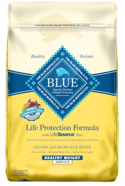 Blue Buffalo Life Protection Adult Healthy Weight Chicken & Brown Rice Recipe Dry Dog Food 30lb