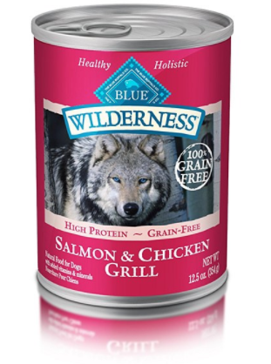 Blue Buffalo Wilderness Canned Dog Food Salmon & Chicken