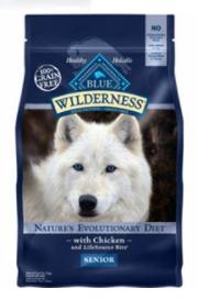 Blue Buffalo Wilderness Chicken Senior Dry Dog Food, 4.5 lbs