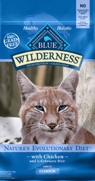 Blue Buffalo Wilderness Indoor Chicken Adult Dry Cat Food, 11 lbs