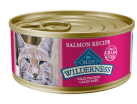 Blue Buffalo Wilderness Salmon Canned Cat Food, 5.5 oz